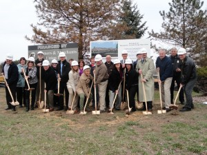 Hamilton Park Place groundbreaking